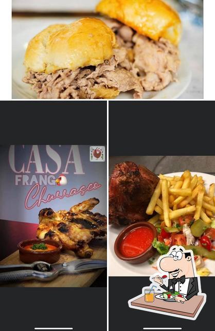 Food at Casa Frango