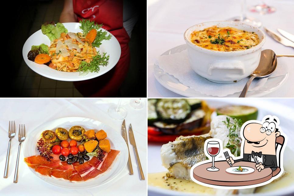Meals at Restaurant Croatien