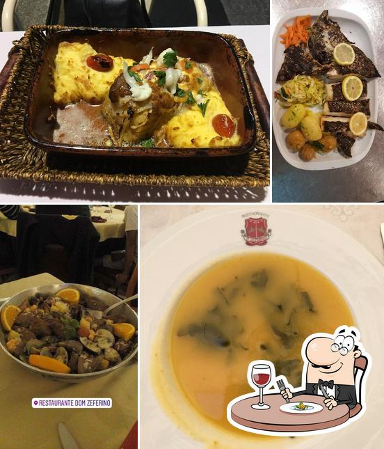 Food at Dom Zeferino