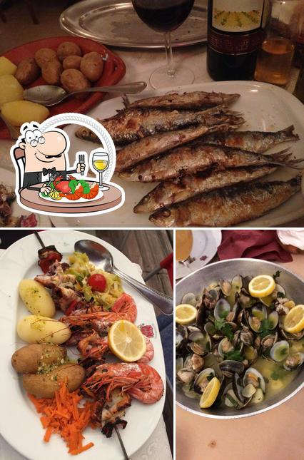 Get seafood at Dom Zeferino