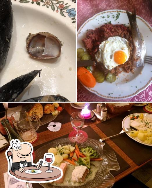 Еда в Fischerhaus