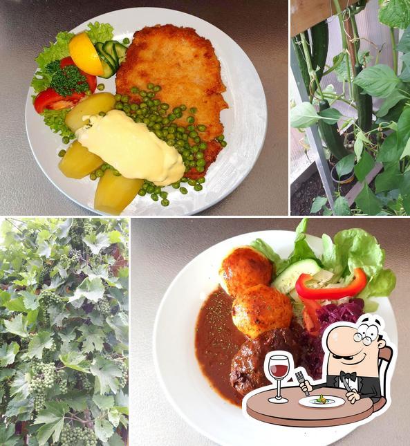 Essen im Gaststätte am Kärrnerweg Leipzig