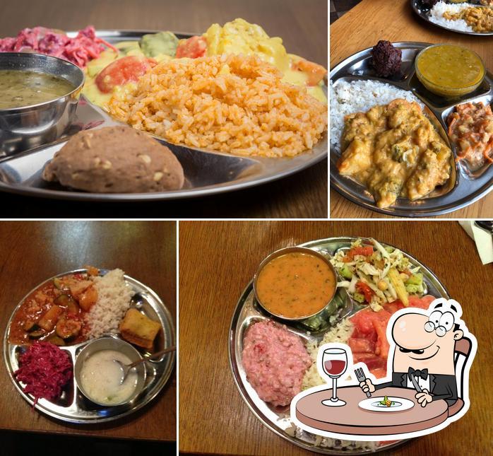 Food at Góvinda