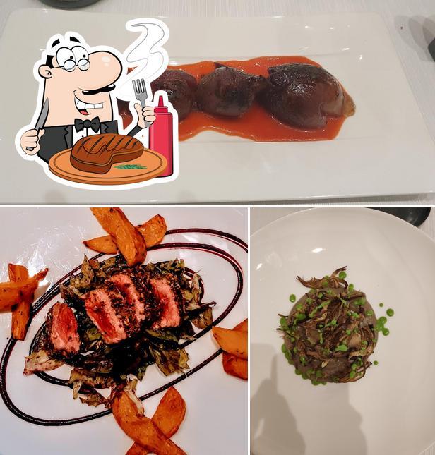 Prova i un pasto a base di carne a Ristorante Km.0