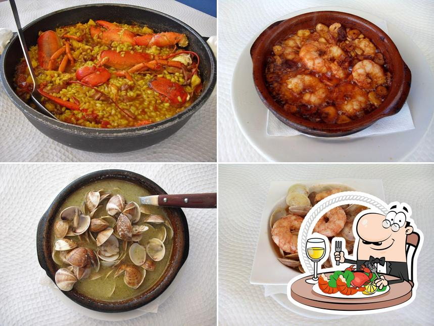 Попробуйте блюда с морепродуктами в La Gamba