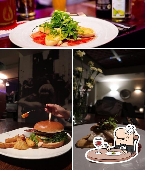 Food at Scandale Royal