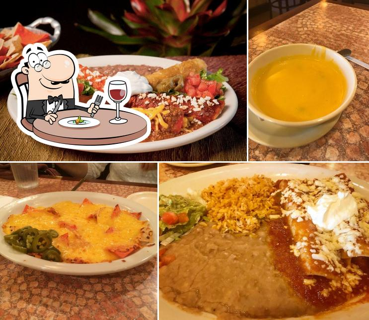 Food at Los Barrios