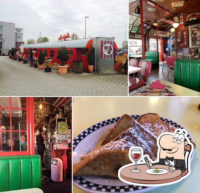 Comida en Mandy's Railway Diner