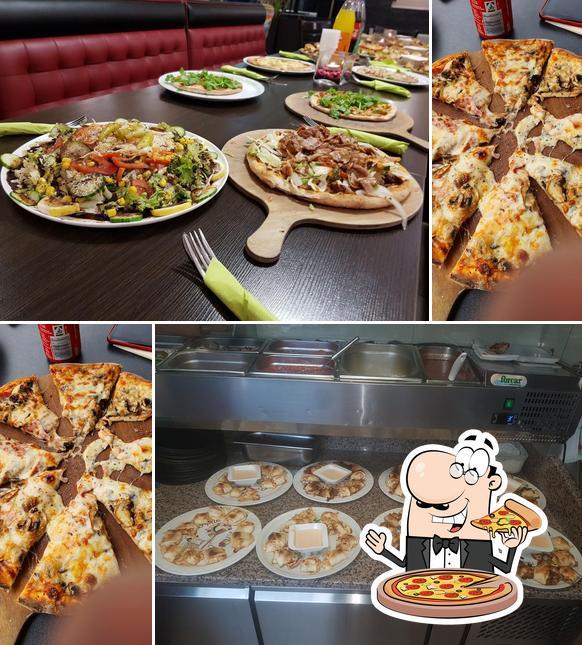 Probiert eine Pizza bei Munzur Grill