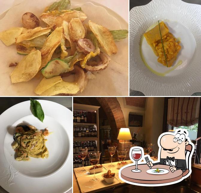 Comida en Osteria Il Granaio