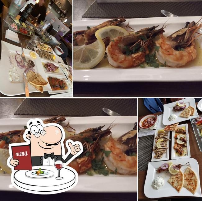 Food at Ouzeria