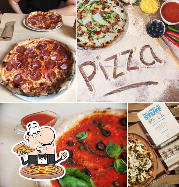Commandez des pizzas à Pizza Acrobatica