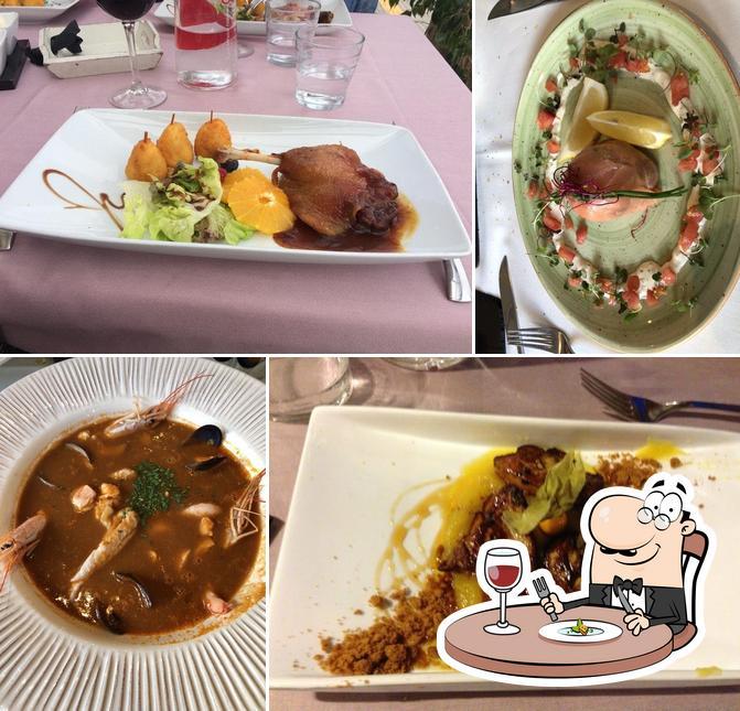 Еда в Sabor