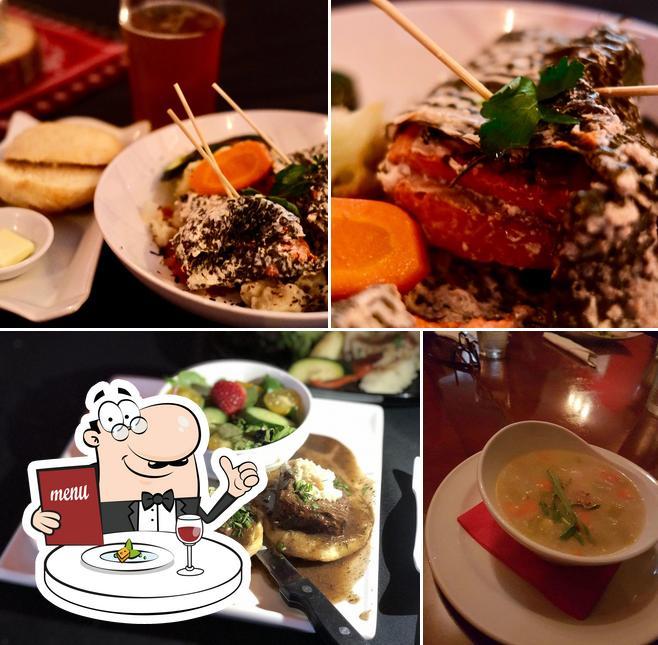 Meals at Salmon n' Bannock