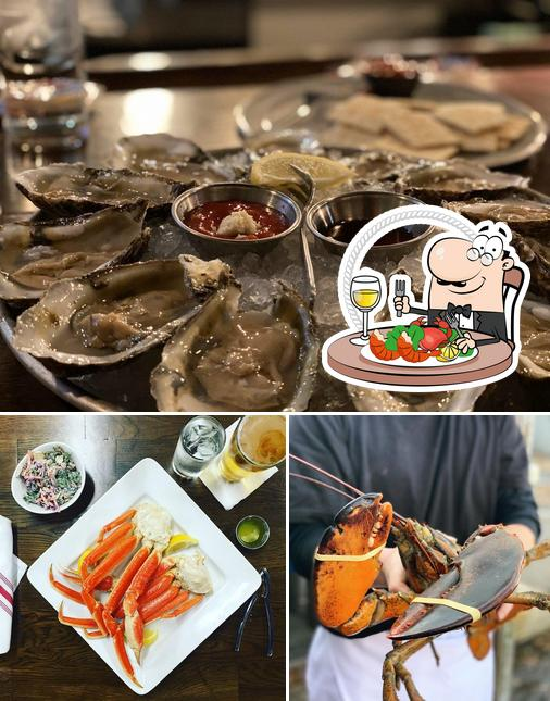 Order various seafood dishes offered by Standard Oyster Company