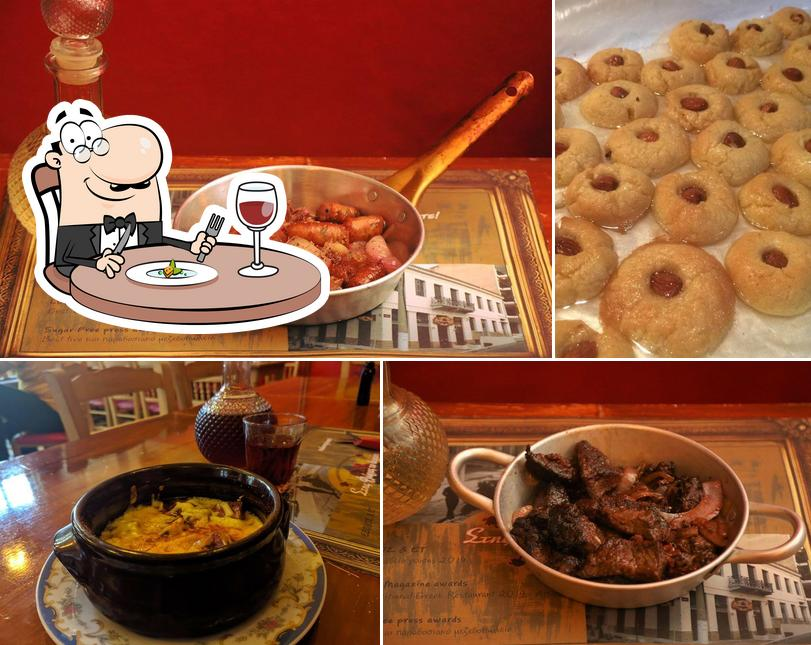 Food at Stis Floras To Verani