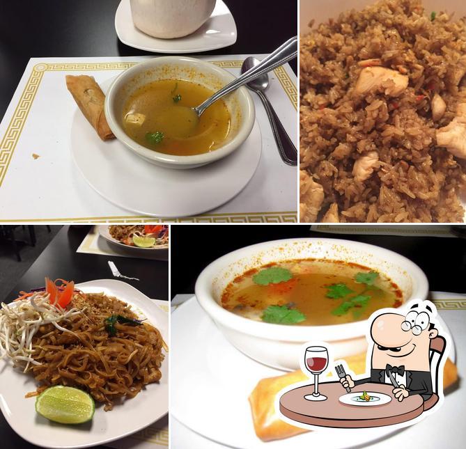 Meals at Thai Recipes Rest