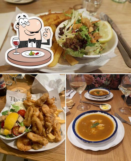 Food at The Seafood Bar
