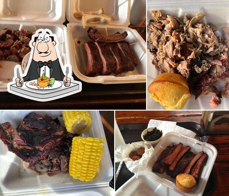 Meals at Tom Jenkins BBQ