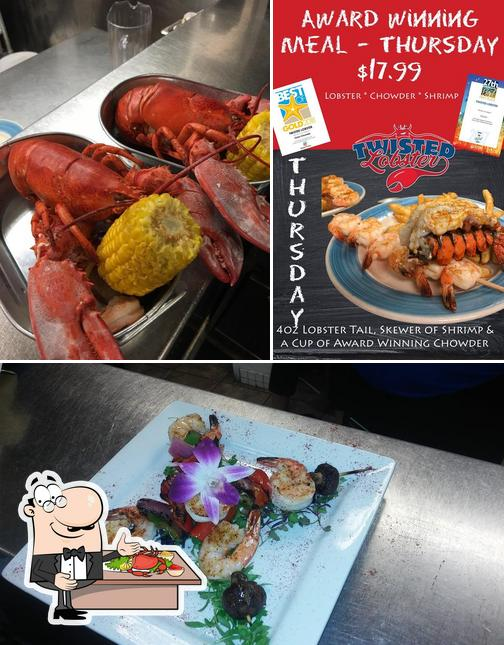 Order seafood at Twisted Lobster
