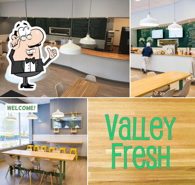 The interior of Valley Fresh