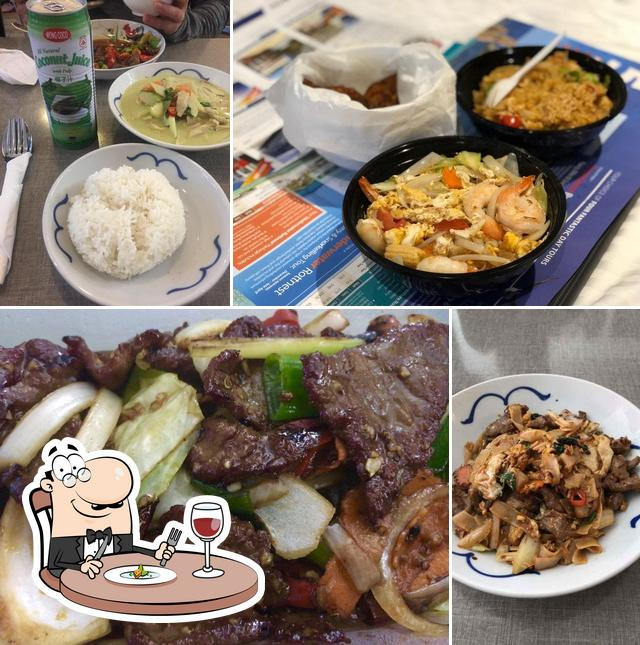 Comida en Wok & Ladle