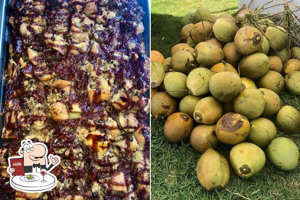 Food at Yahman's Authentic Jamaican Jerk