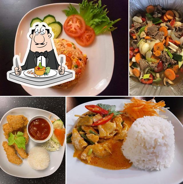Food at Yod Siam Thai Cuisine