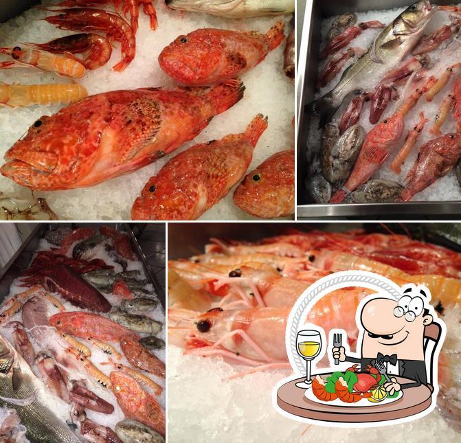 Bestellt Meeresfrüchte bei i Calafatari
