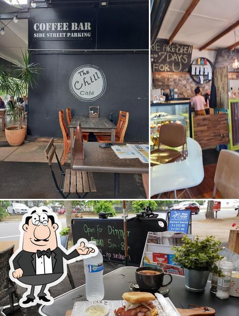 Интерьер The Chill Cafe