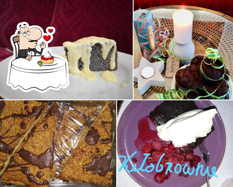 Café ArtemPause bietet eine Vielfalt von Desserts