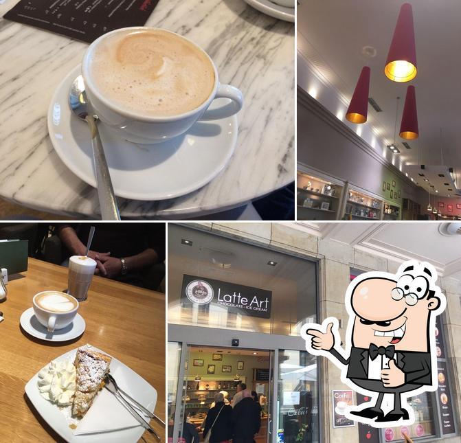 Foto von Café Latte Art