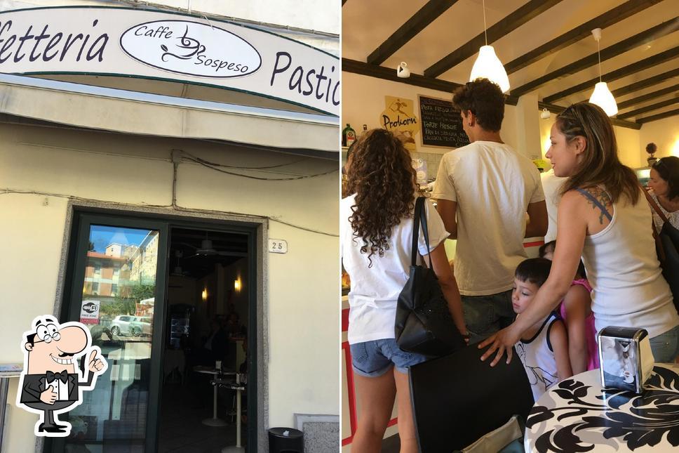 "Это фотография кафе ""Sospeso"""