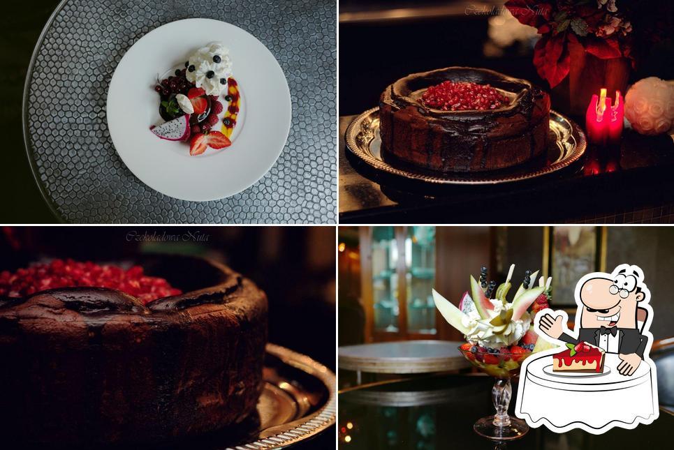 Enjoy one of the desserts