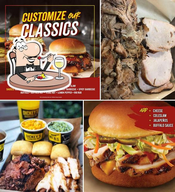 Meals at Dickey's Barbecue Pit