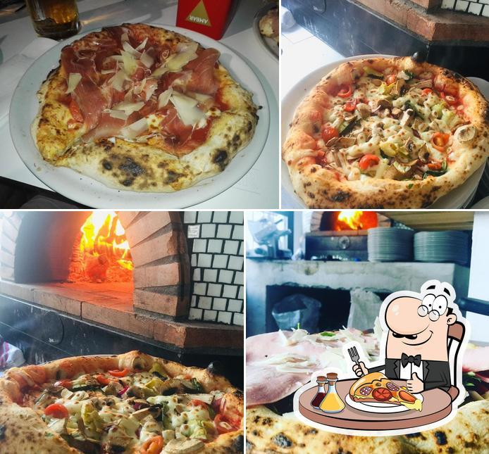 Попробуйте разные виды пиццы