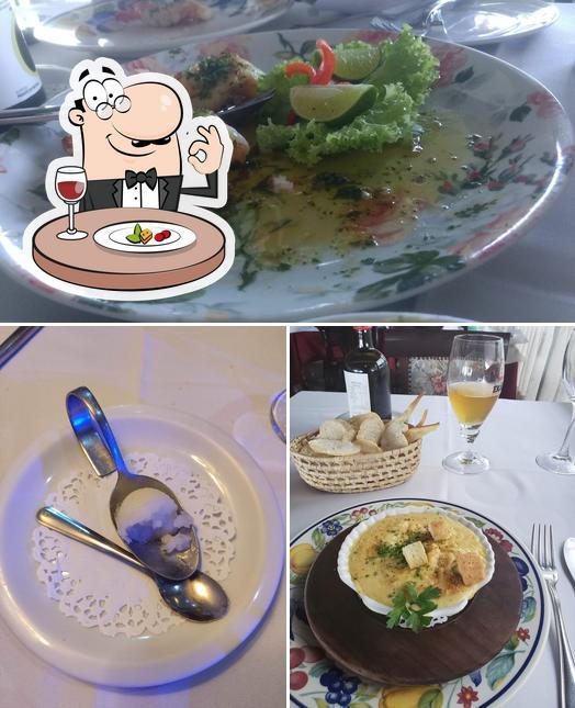Comida em Marcel Restaurante