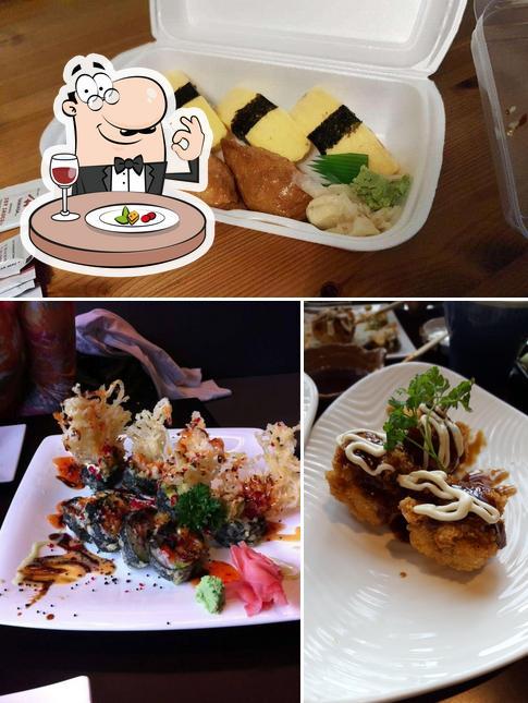 Food at Noma Japanese Restaurant