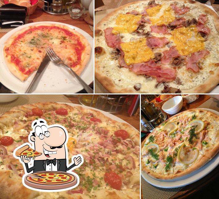 Pide distintos modelos de pizza