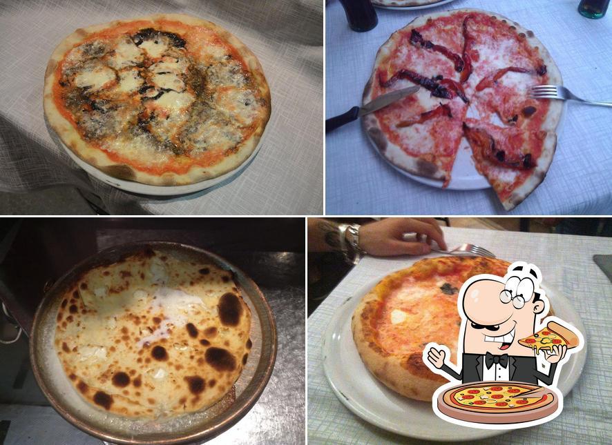 Scegli una pizza a Il Rospetto