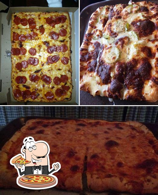 Pick pizza at Nina's Wing Bites & Pizza Dunmore