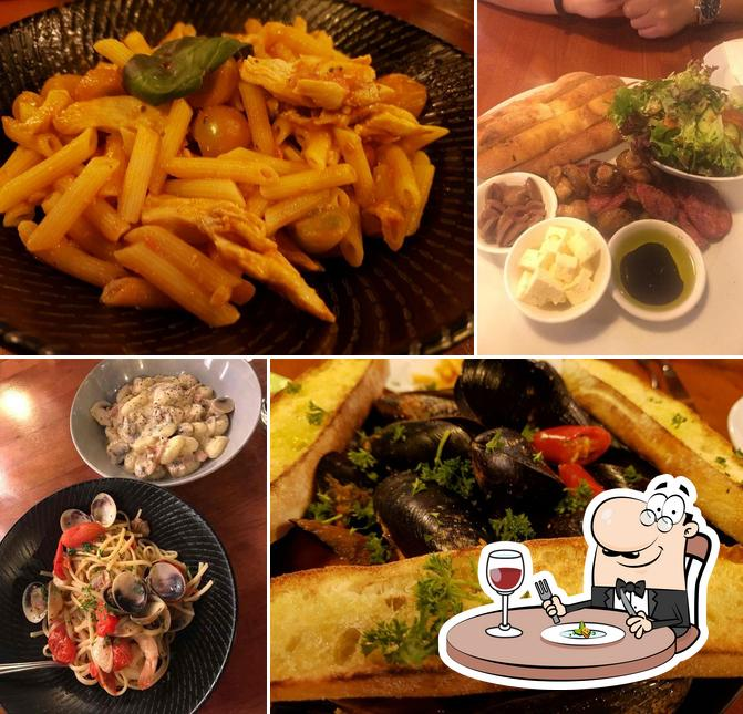 Food at Woodpeckers