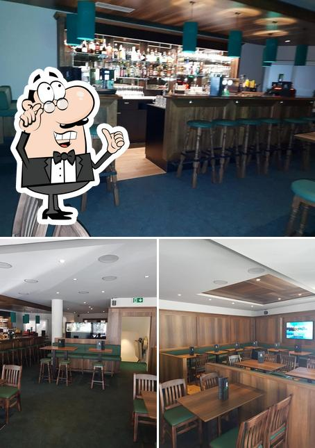 Check out how Churchill Pub looks inside