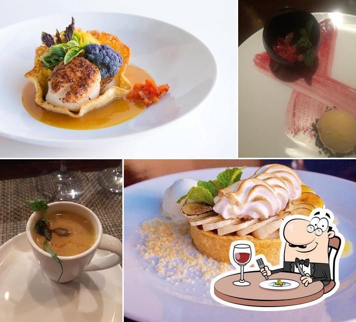 Food at Coyote Café and La Cantina