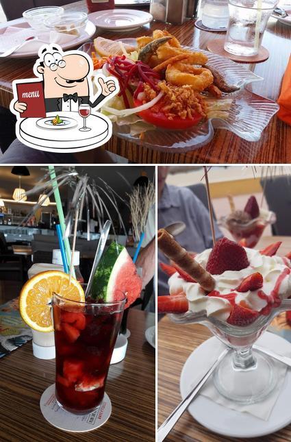 Comida en Miami Café