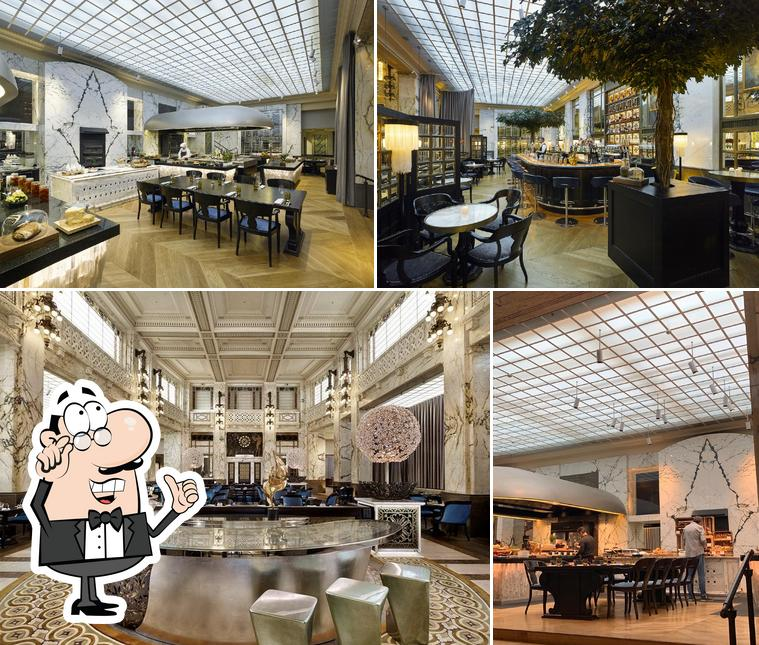 Schaut euch an, wie The Bank Brasserie & Bar drin aussieht
