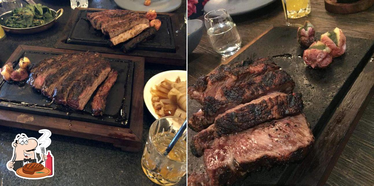 Order meat dishes at ARDEO
