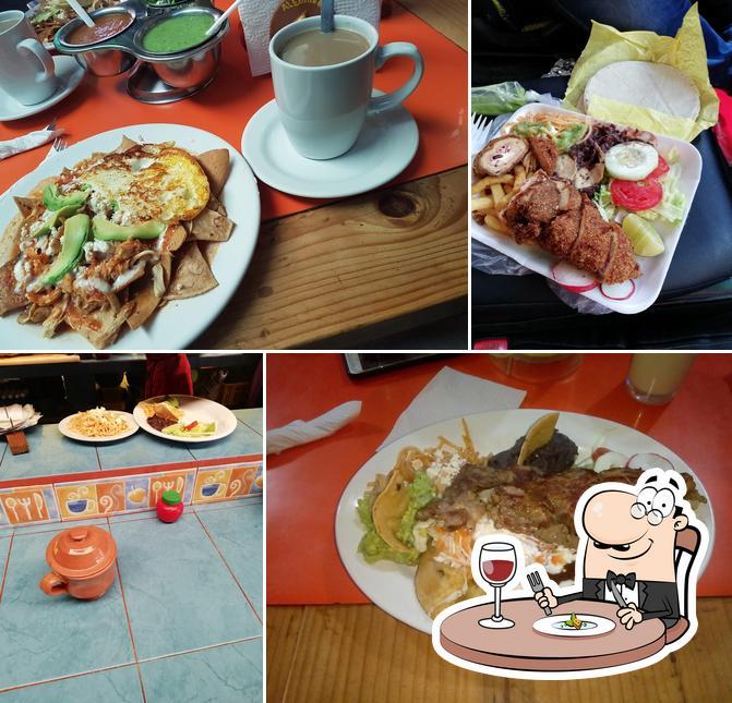 Meals at Alebrije