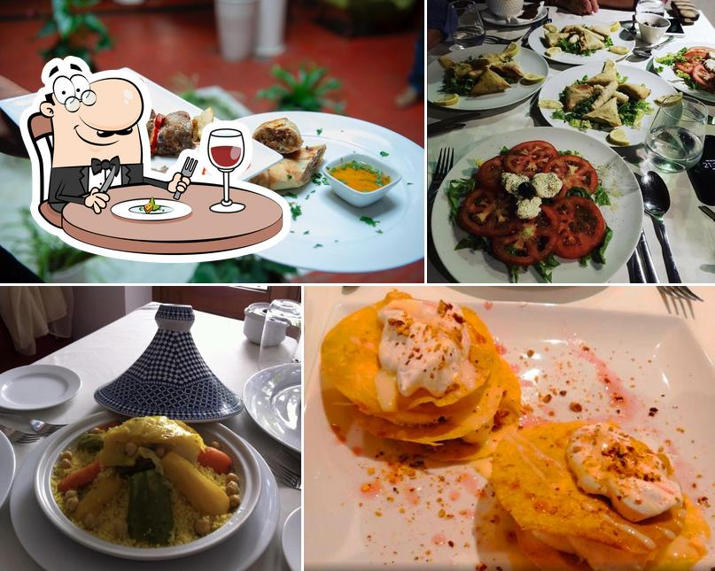 Meals at Blanco Riad