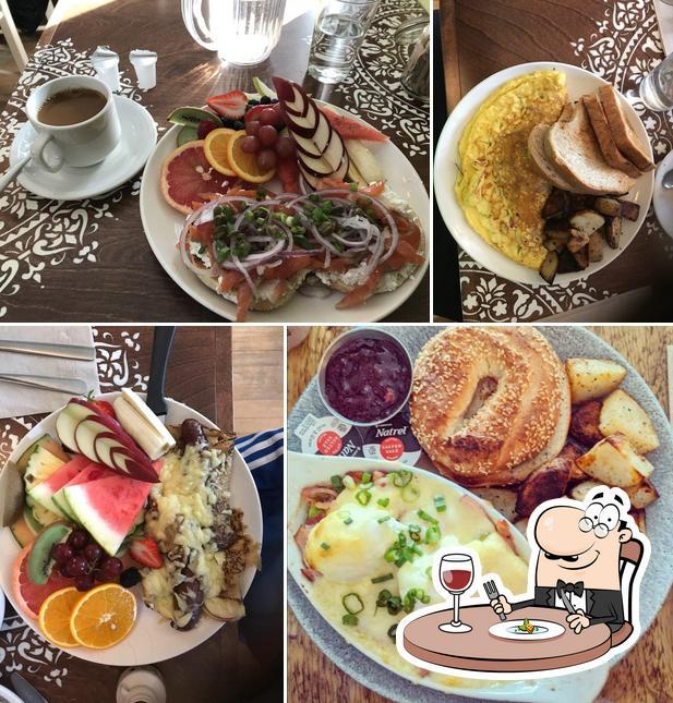 Nourriture à Café Aragon